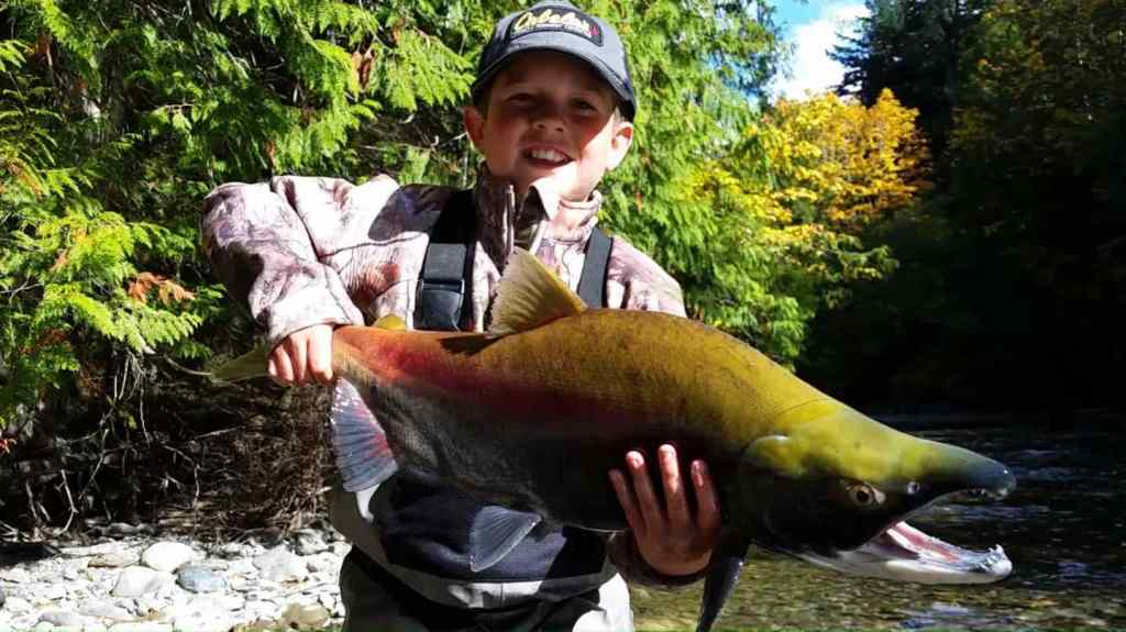 Take your Kids Salmon fishing in British Columbia