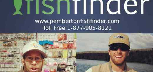 Pemberton Fish Finder New Fishing Guides