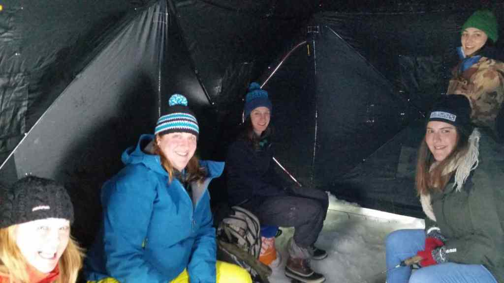 Ice fishing trips in Canada