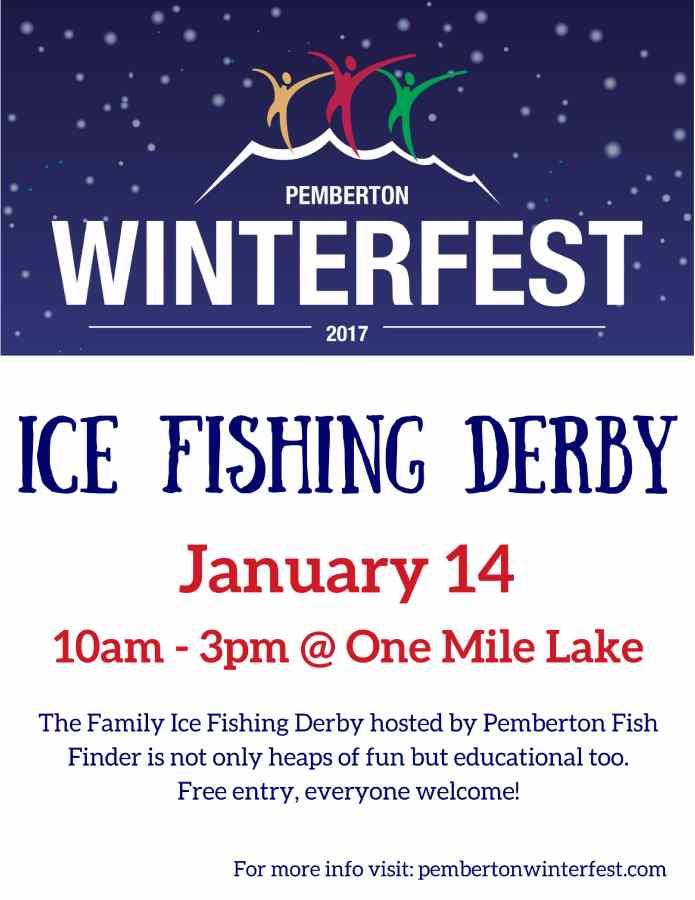Pemberton Winterfest 2017 Ice Fishing Derby