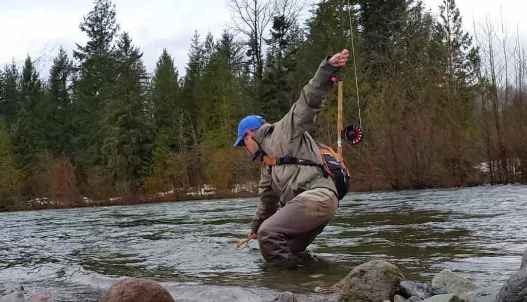 Squamish BC Winter fly fishing