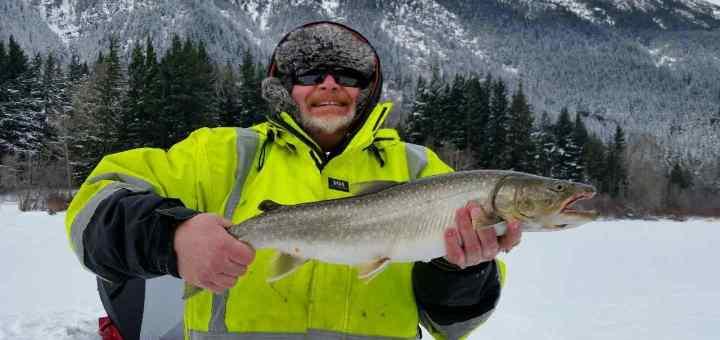 Winter Fishing trips in Whistler British Columbia Canada