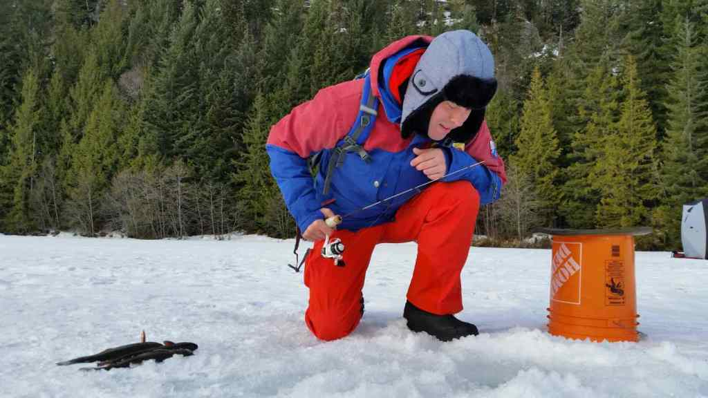 Ice fishing tours BC