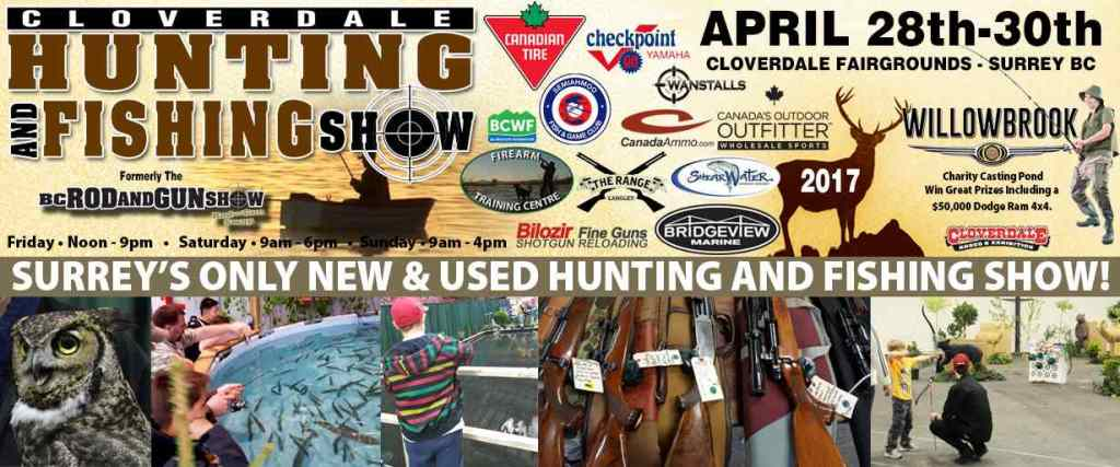 Cloverdale hunting and fishing show