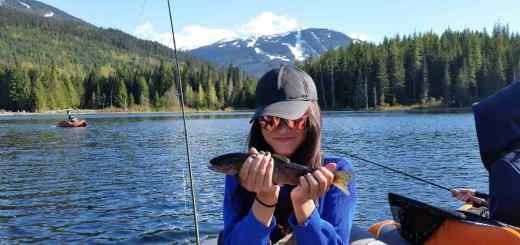 How to catch fish in Whistler BC