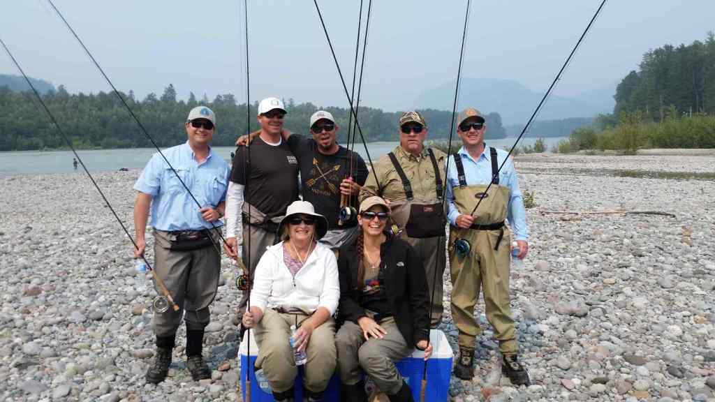 Fly fishing trips in BC