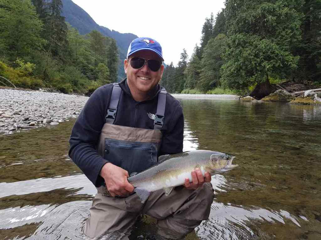 Helicopter Fly fishing trips in British Columbia