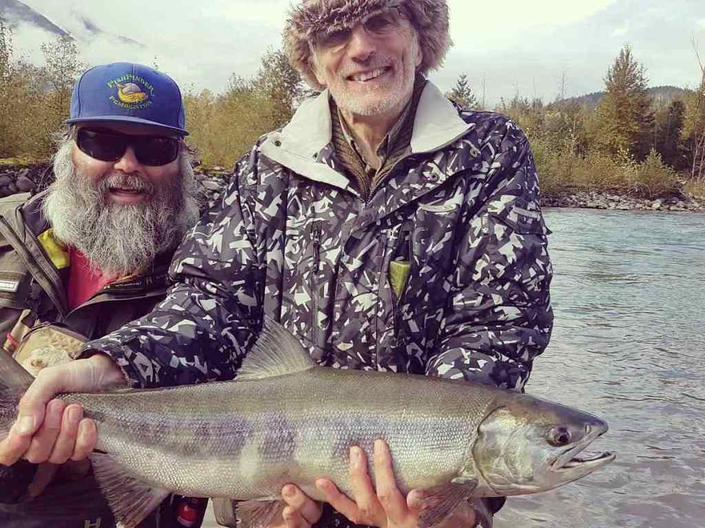 Salmon fly fishing guides in BC