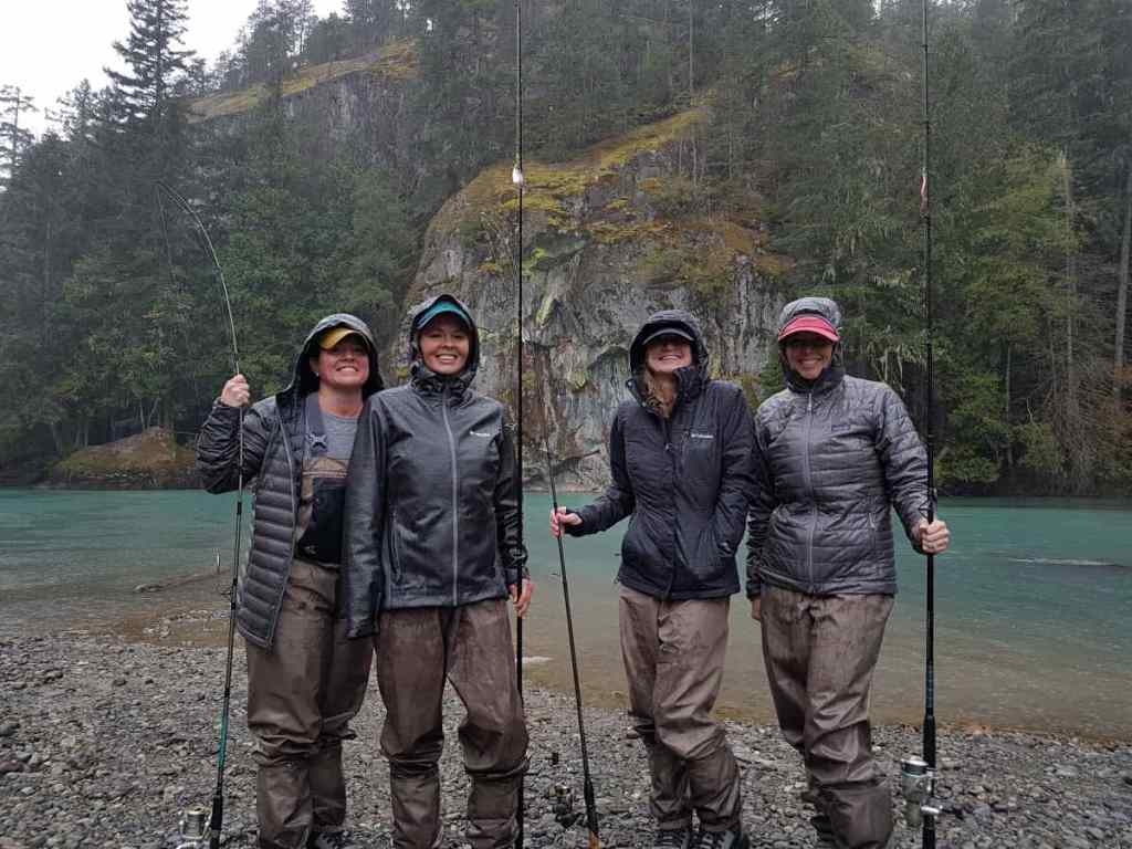 Spin fishing trips in Squamish BC