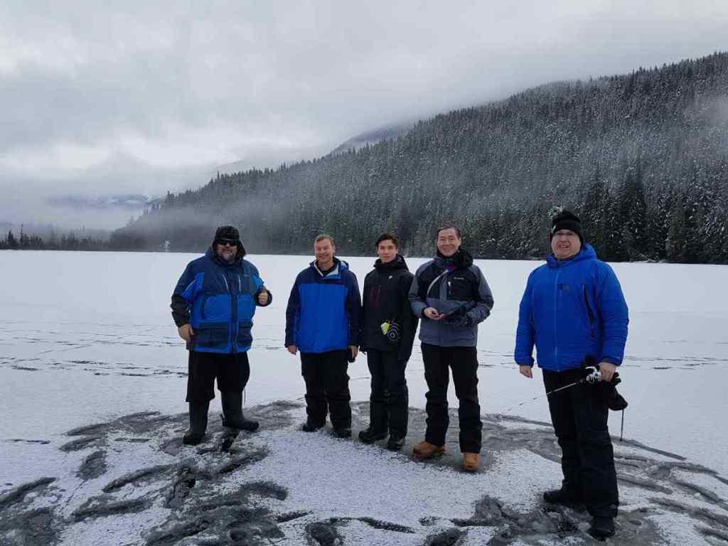 Whistler Ice fishing tours