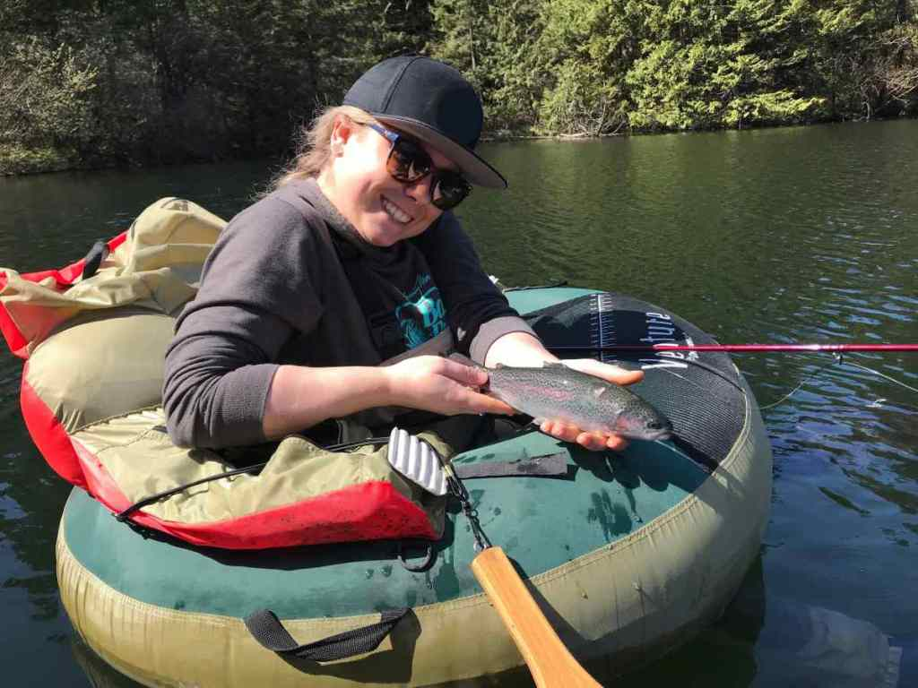 Browning lake Fishing in Squamish BC