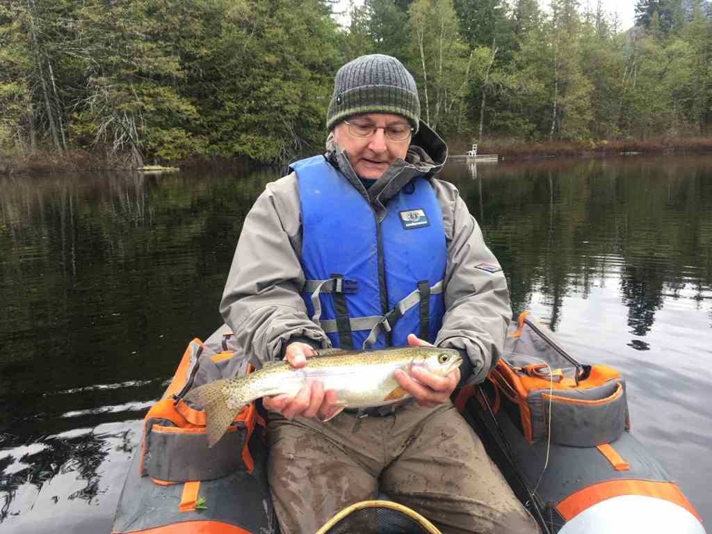 Fly Fishing in BC Ivey Lake