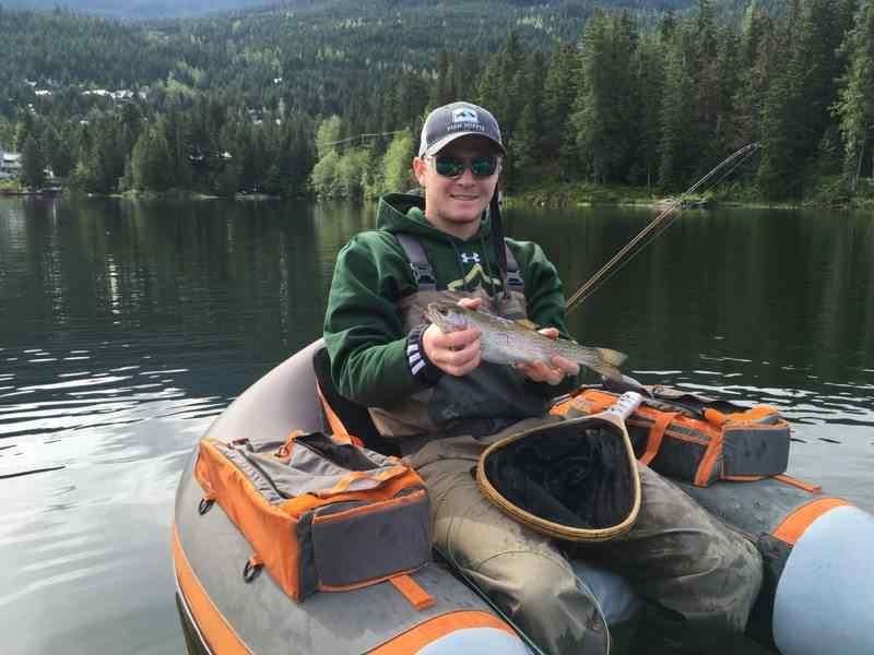 The Fly fishing trips Whistler BC