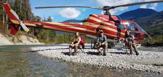Helicopter fishing trips in British Columbia Canada