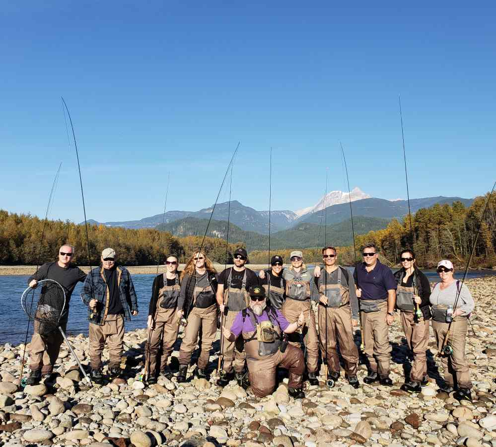 Salmon fly fishing trips in Canada
