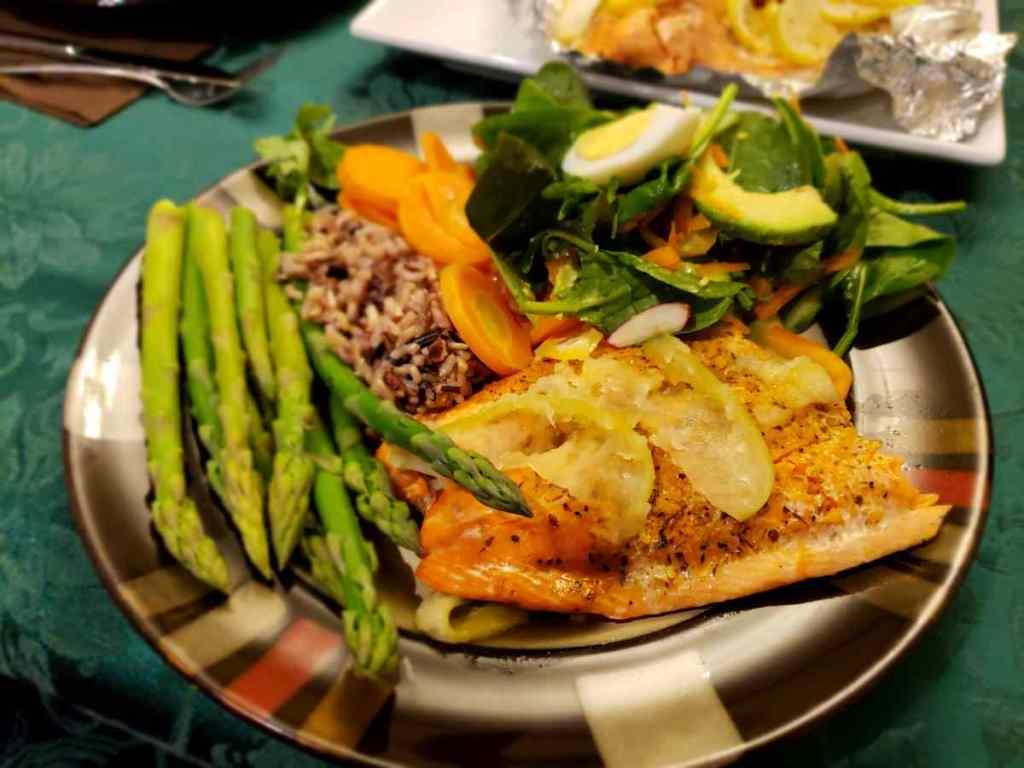 Coho Salmon for Dinner