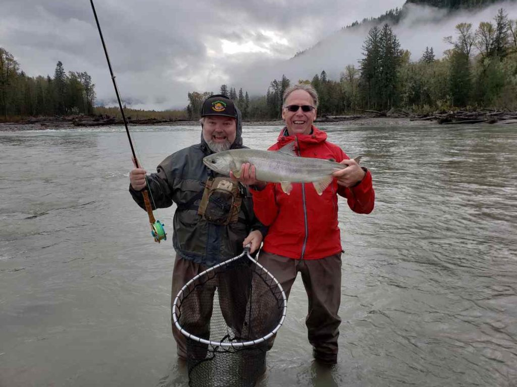 Fly Fishing for Chum Salmon in British Columbia
