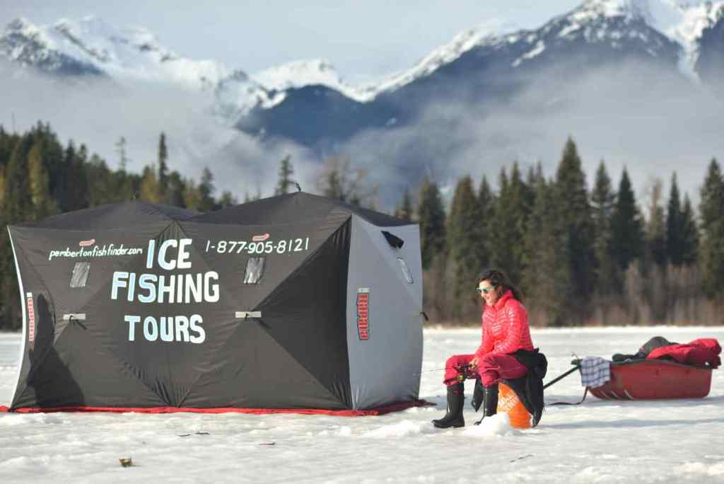 Ice fishing guides in Canada