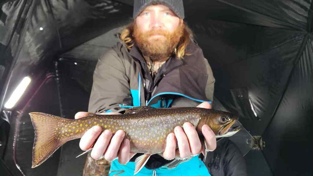 Ice fishing trips near Vancouver BC