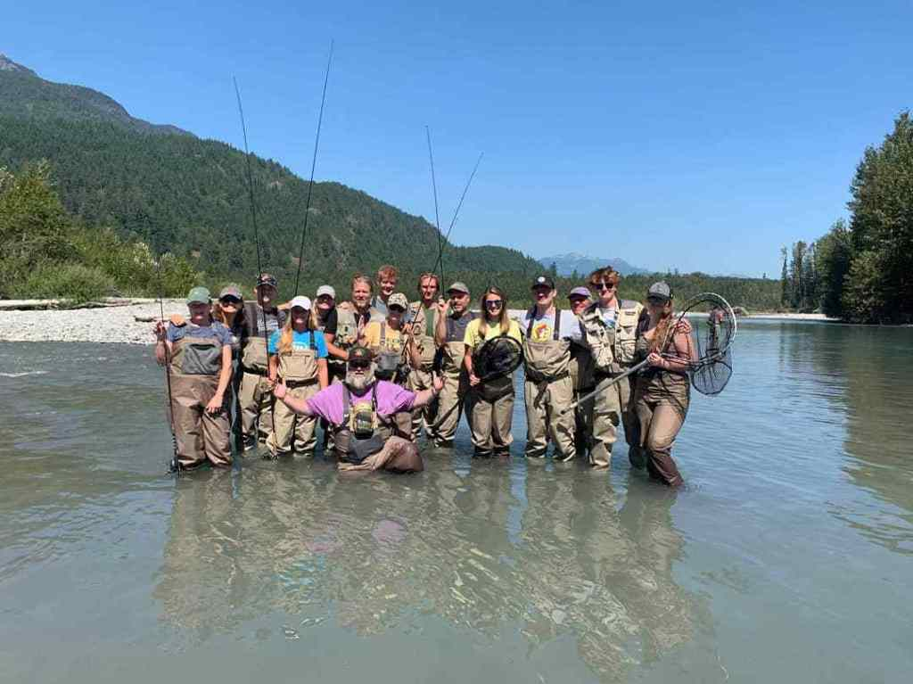 Corporate fishing trips in Whistler BC