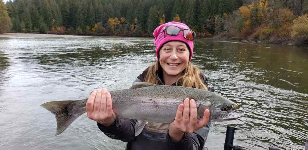 BC Coho Salmon fishing Trips