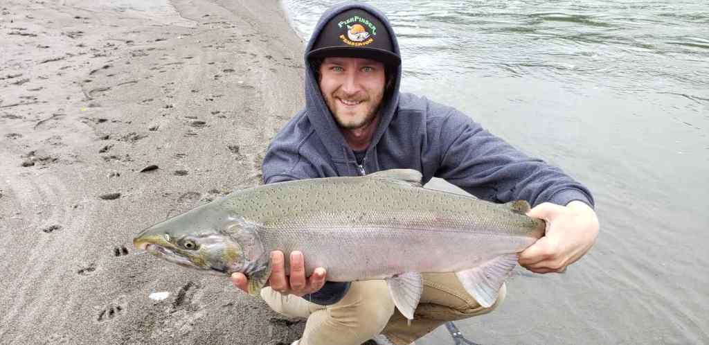 Freshwater Coho Salmon fishing trips in BC