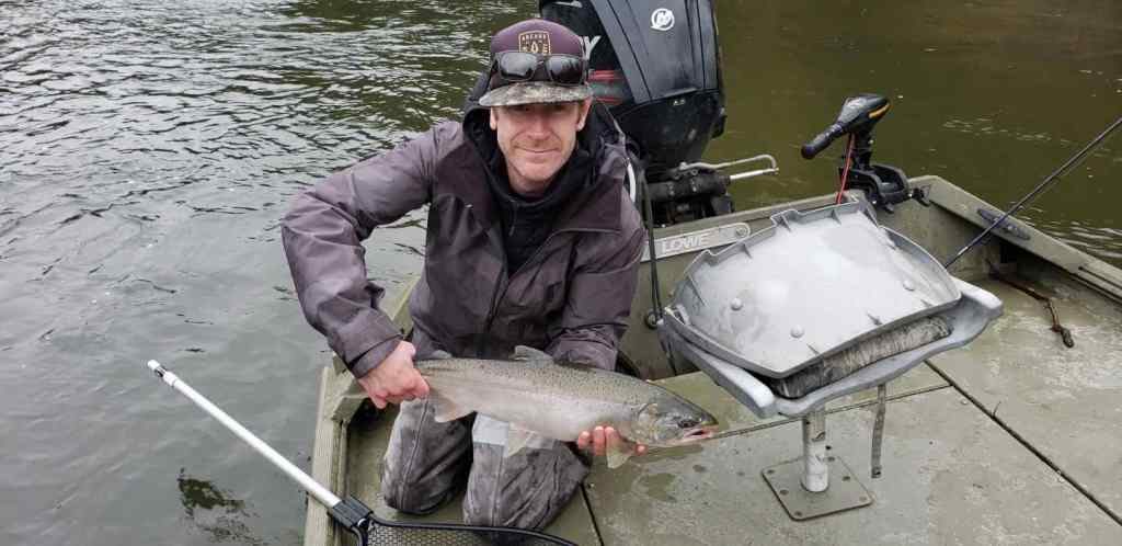 Great fishing for Salmon in BC