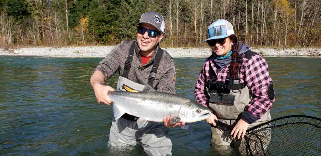 Salmon fishing guides near Vancouver