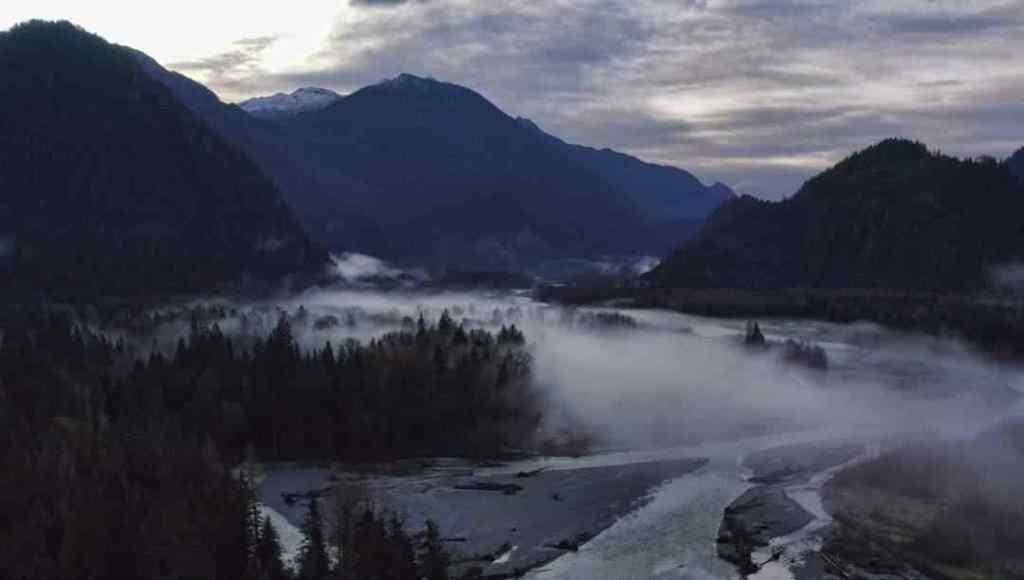Salmon fishing rivers in Canada
