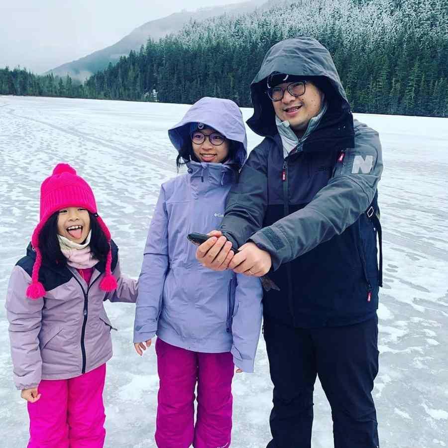 Whistler Ice fishing