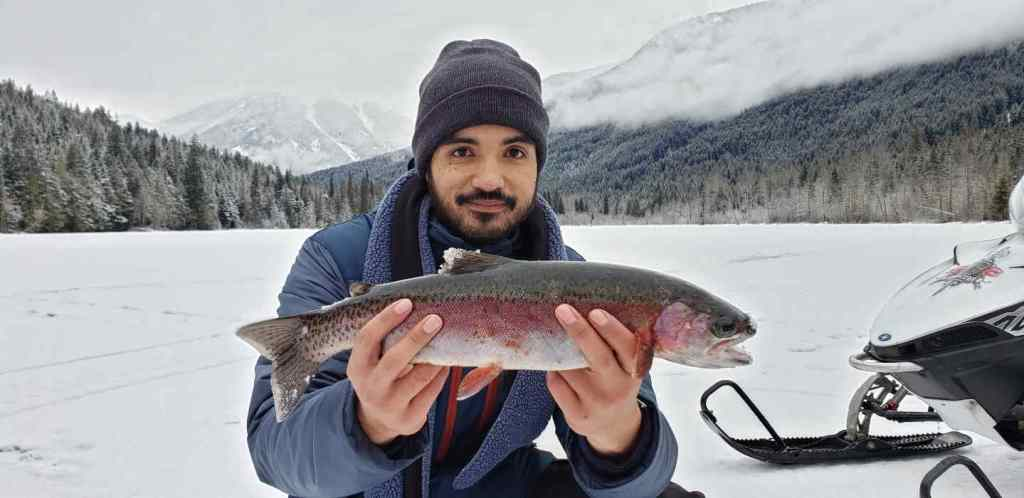Ice fishing tips and tricks