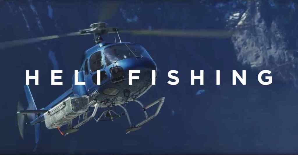 Heli Fishing is more than just Fishing in British Columbia Canada