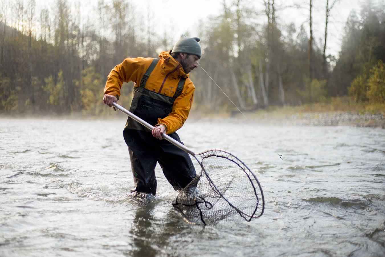 How to land a Coho Salmon