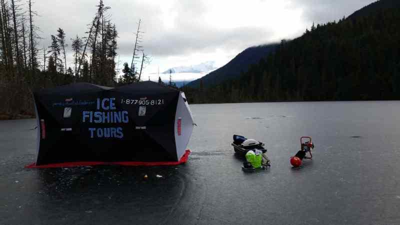 Ice fishing Rentals
