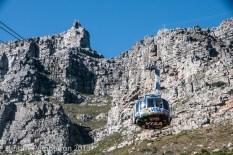 Aerial Tramway to the top of Table Mountain