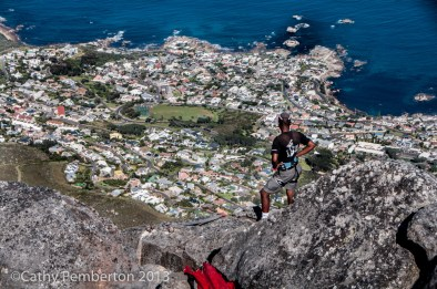 Hiking is an extremely popular activity on Table Mountain.