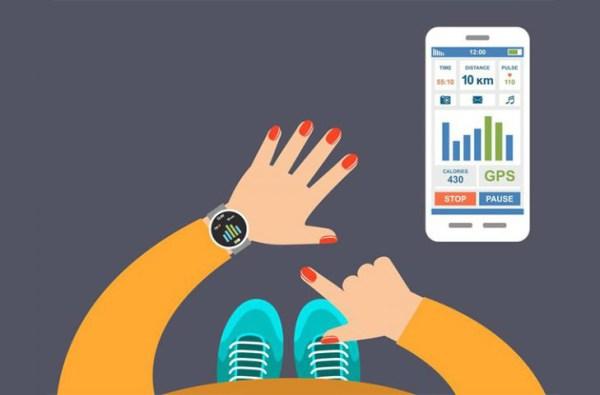 Akıllı telefonlara kablosuz bağlantı sağlayabilen akıllı bileklikler