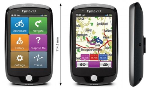 Bisiklet tutkunları için yepyeni Mio Cyclo 210 bisiklet bilgisayarı!