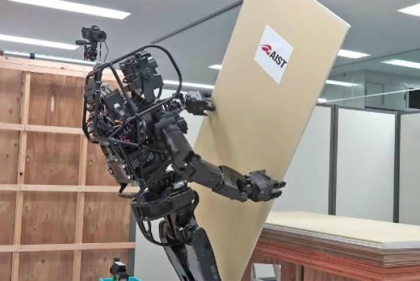 Robot dünyasındaki yenilik: inşaat işçisi HRP-5P