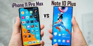 iPhone 11 Pro Max ve Galaxy Note 10 Plus