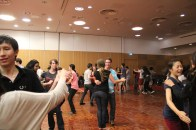 The fun of ceilidh-dancing comes from not knowing the steps, messing up and figuring it out together.