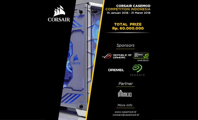 CORSAIR CASEMOD COMPETITION INDONESIA pemmzchannel