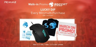 Feature Image March On Promo Roccat Walk in