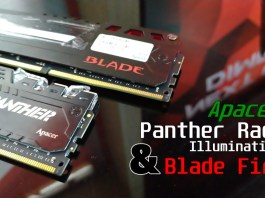 Review Memory Apacer Panther Rage Illumination and Blade fire Featured image