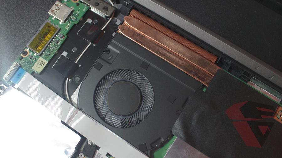 Review Acer Swift 3 Ryzen 7 Fan