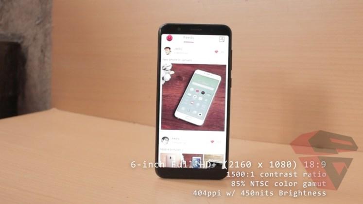 review Zenfone Max Pro M1 - Design - LCD