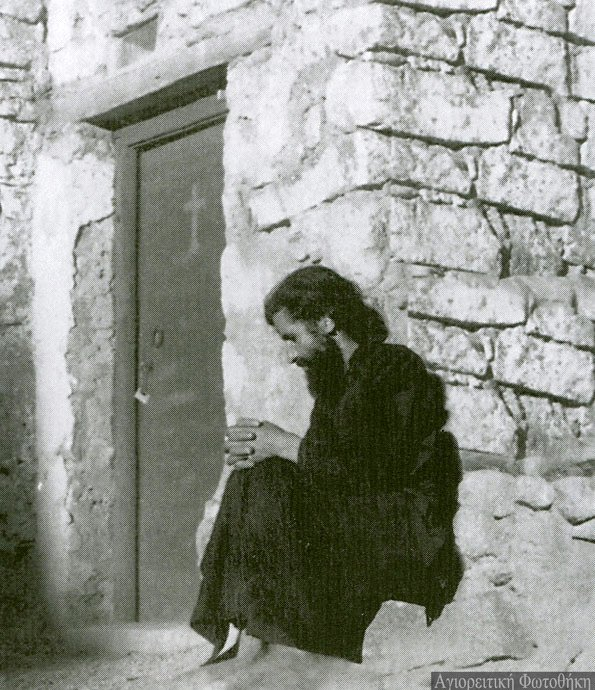 Paisios while staying in Mount Sinai