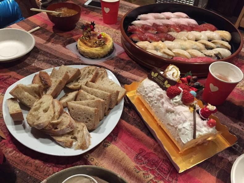 唐桑のクリスマスイブ会