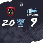 Résultat Toulon-Aviron Bayonnais