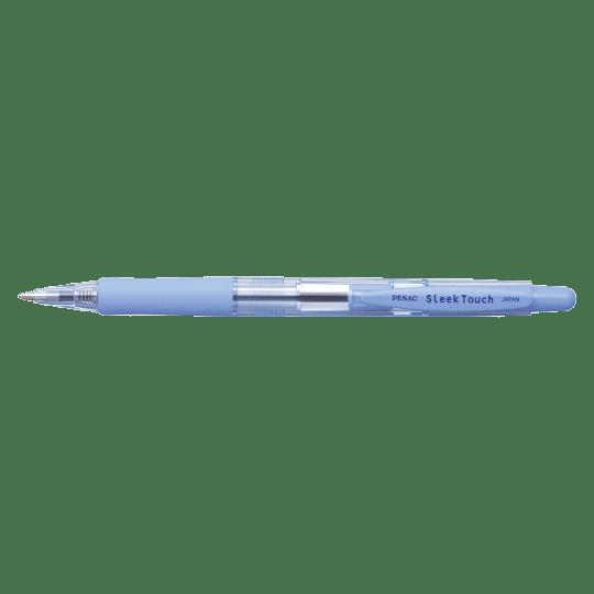 PENAC Japan - Kugelschreiber SLEEK TOUCH PASTELL pastellblau